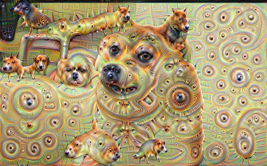 Google-Deep-Dream-Dog