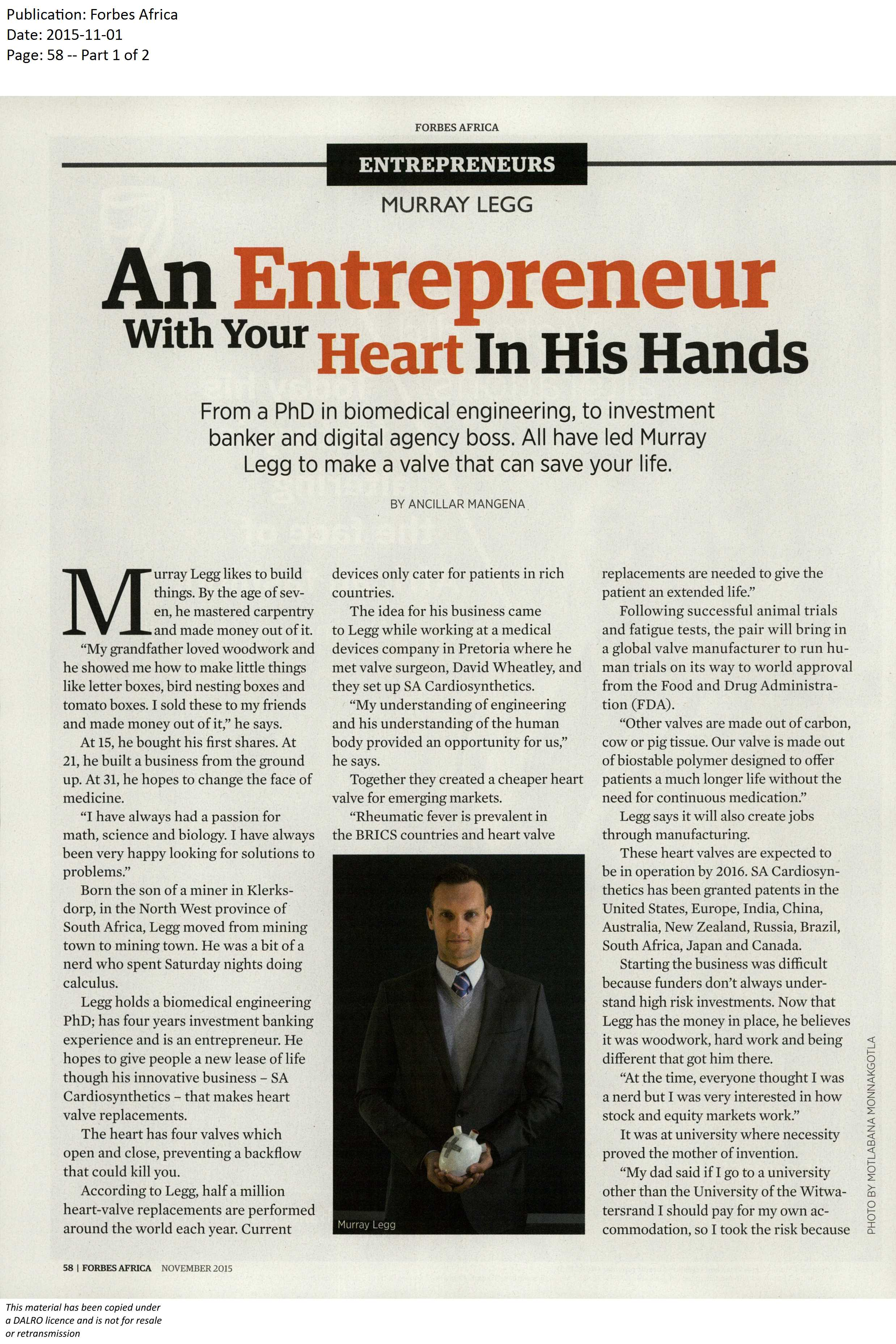 Forbes article 2015 page 1